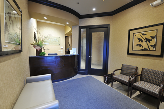 Dentist office Reception Area